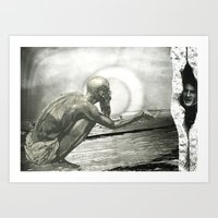 Time To Stop Hiding From… Art Print