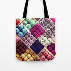 Yarn Display Tote Bag