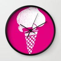 Gelati 1 Wall Clock