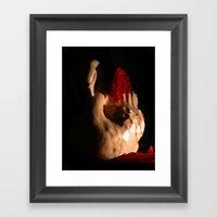 Dark Romance Framed Art Print