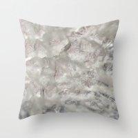 Crystal 5 Throw Pillow