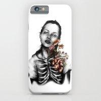 Heartbeats // Illustrati… iPhone 6 Slim Case