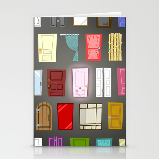 Doors Stationery Card