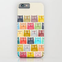 iPhone & iPod Case featuring summer cats by Sharon Turner