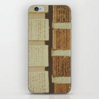 brick split iPhone & iPod Skin