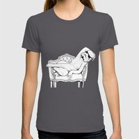 Rococo trooper Womens Fitted Tee Asphalt SMALL