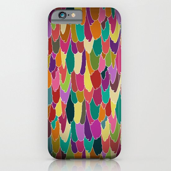 feather vignette iPhone & iPod Case
