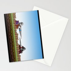 Joust It Stationery Cards