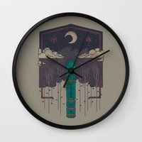 The Lost Obelisk Wall Clock
