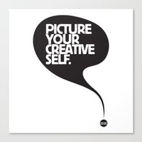 Picture Your Creative Se… Canvas Print