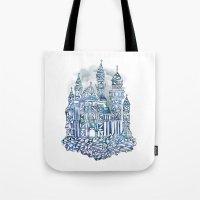 Crystal Castle Tote Bag
