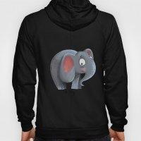 Elly The Shy Elephant Hoody