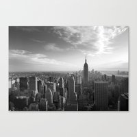 Canvas Print featuring LandscapeNewYork by Silvia Giacoletto