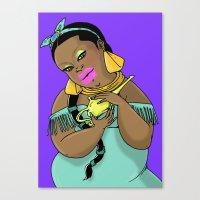 SJOKOLADE_3 Canvas Print