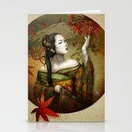 Momijigari [Maple Viewin… Stationery Cards