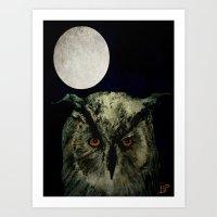 The Night Owl Part 2 Art Print