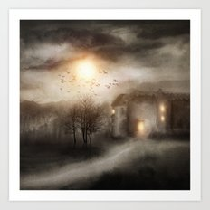 Tales of Halloween Art Print