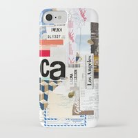 los angeles iPhone & iPod Cases featuring Los Angeles by Emily Rickard