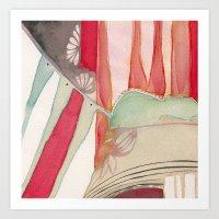 princess Art Prints featuring Princess by angela deal meanix