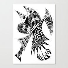 Ubiquitous Bird Canvas Print