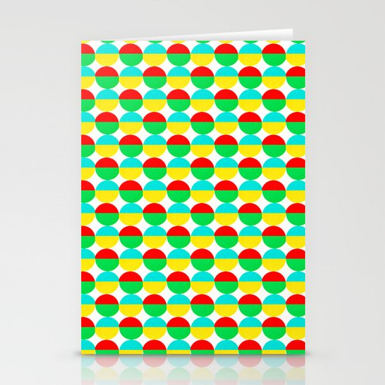 Van Abbe Pattern Stationery Card