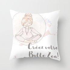 Bulle Zen Throw Pillow