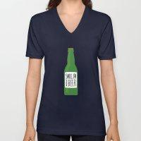Smile, I'm your beer Unisex V-Neck