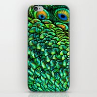 Peeping Eyes iPhone & iPod Skin