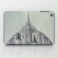 Vintage Chrysler Cuilding 1930's iPad Case
