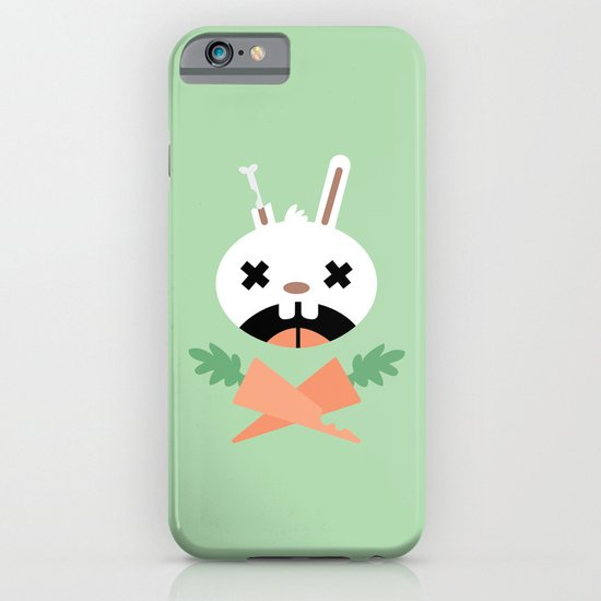Bunny Death iPhone & iPod Case