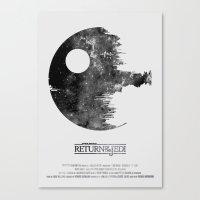 Star Wars - Return Of Th… Canvas Print