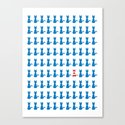 Where is Wally - Cat Canvas Print