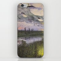 reversible landscape iPhone & iPod Skin