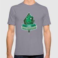 Gorn Rockthrowers Mens Fitted Tee Slate SMALL