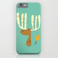iPhone & iPod Case featuring A moose ing by Budi Kwan