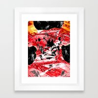 RED BULL Framed Art Print