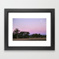 Dusk II Framed Art Print