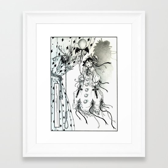 Apparitia Doll Framed Art Print