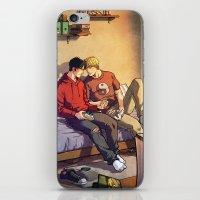 William and Theodore iPhone & iPod Skin