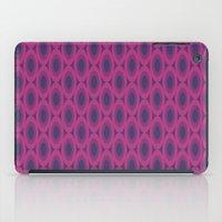 Retro Bloom Purple 6 iPad Case