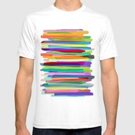 T-shirt featuring Colorful Stripes 1 by Mareike Böhmer Grap…