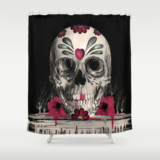 Pulled Sugar Shower Curtain