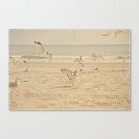 Love of the Ocean Canvas Print