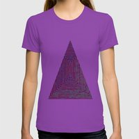 Tomb Womens Fitted Tee Ultraviolet SMALL