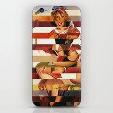 Glitch Pin-Up Redux: Kimberly iPhone & iPod Skin