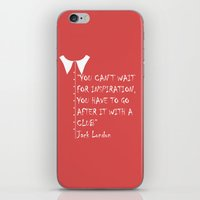 QUOTE-2 iPhone & iPod Skin
