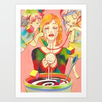 A Small, Good Thing Art Print