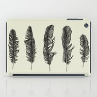 Lucky Five Feathers iPad Case