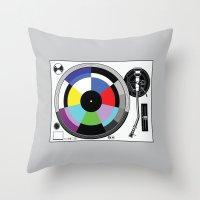 1 kHz #11 Throw Pillow