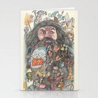 Hagrid's Beard Stationery Cards
